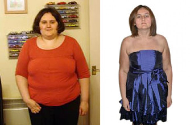 Before and after: Vicky Martin