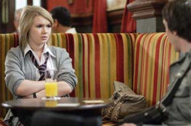 Eastenders' Lucy, who has been cheating on her exams