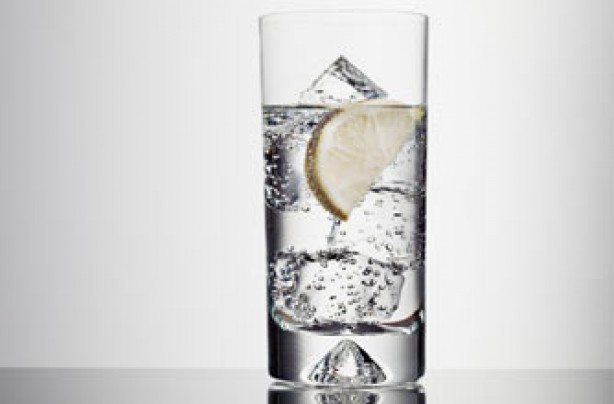 Ways to cool down - glass of water