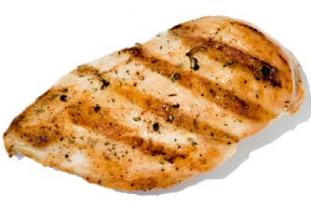 Calaries in chicken breast