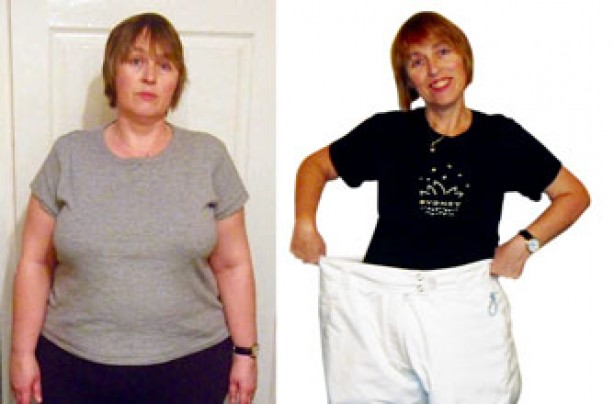 Before and after: Angie Foskett