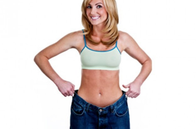 Slimming World Diet, woman wearing loose jeans