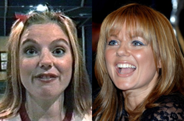 Geri Halliwell, teeth