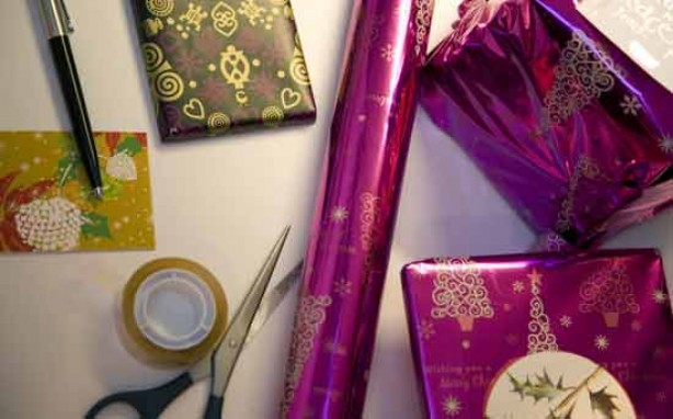 Money saving tips for mums: Re-use wrapping paper, ribbons and old cards