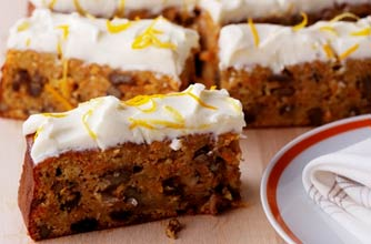 Phil Vickery's carrot cake recipe - goodtoknow