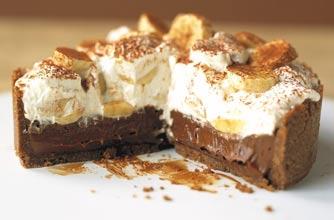 Phil Vickery S Chocolate Banoffee Pie Recipe Goodtoknow