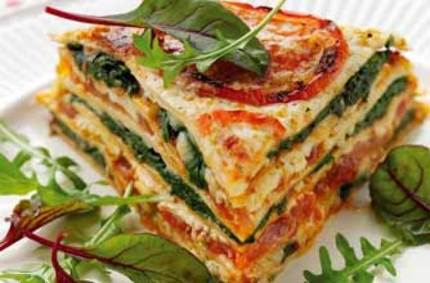 Cheddar tortilla lasagne recipe