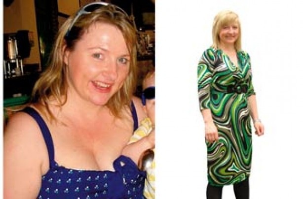 Before and after: Sharon May