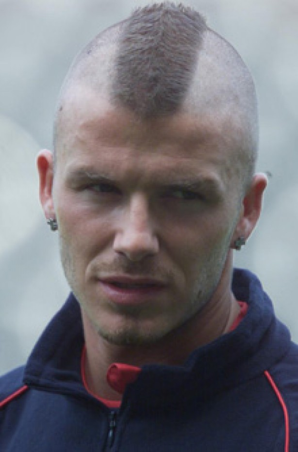 David Beckham 2001 david beckham's life in pictures - david beckham ...