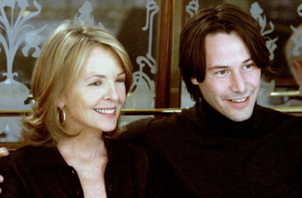 Diane Keaton and Keanu Reeves