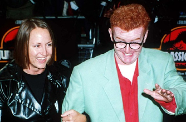 Chris Evans and Carol McGiffin