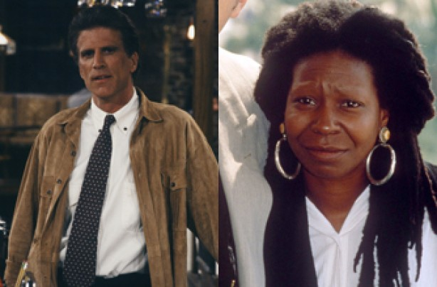 Ted Danson and Whoopi Goldberg