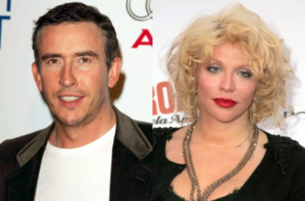 Steve Coogan and Courtney Love
