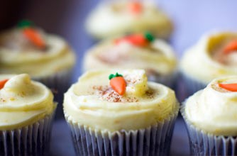 Carrot cupcake recipe