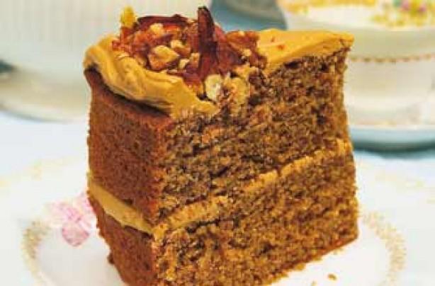 Woman's Weekly coffee and walnut cake recipe