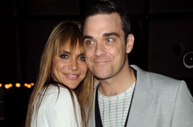 Robbie Williams Ayda Field