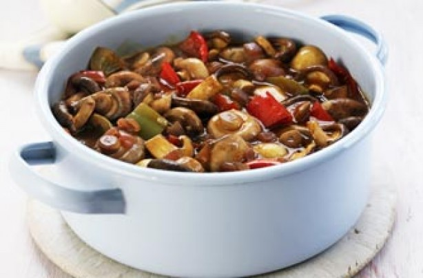 Chicken and mushroom casserole recipe