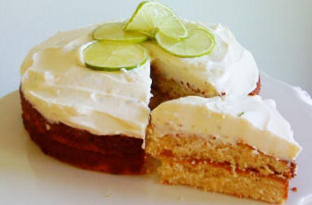 Sacha Boxall's lemon and lime cake recipe