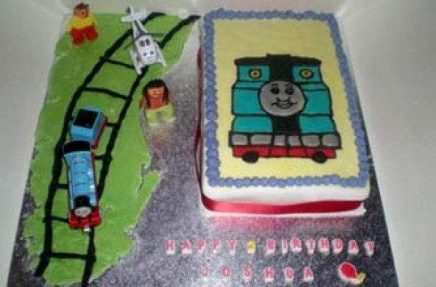 Kirsty Lou Trowell's Thomas cake