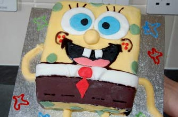 Kirsty's Lou Trowell's SpongeBob SquarePants cake