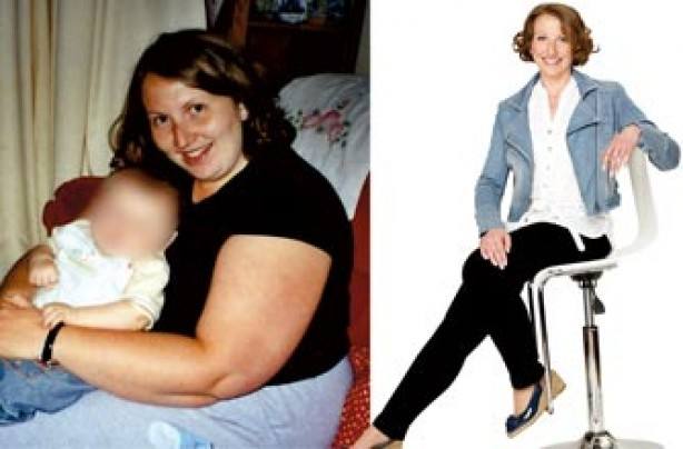 Before and after Cheryl Taylor