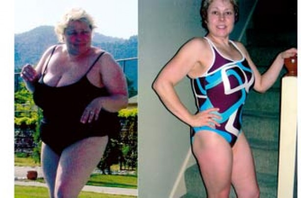 Before and after: Avril Schofield