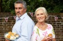 The Great British Bake Off, BBC 2, Judges Paul Hollywood and Mary Berry
