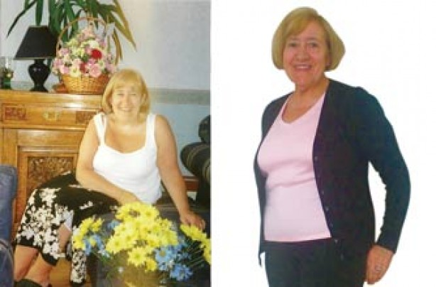 Before and after: Sylvia Kelly