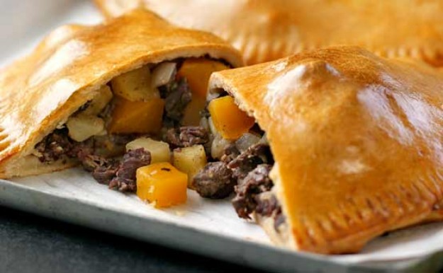 Cornish pasty recipe from The Great British Bake Off