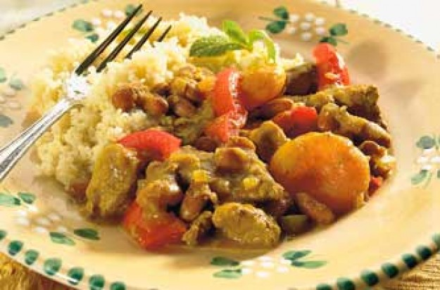 A delicious and tasty lamb tagine that is easy to cook. This is a great meal for the whole family and it is very economical. It can be served for lunch or dinner.