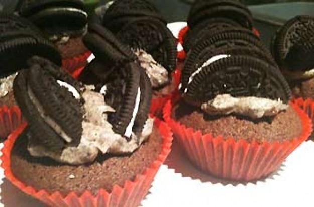 Rachel Powell's Oreo butterfly cupcakes