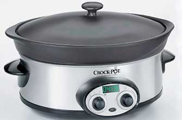 Competition win a crock-pot slow cooker
