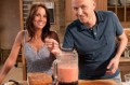 Andrea McLean's tomato soup with orange and olive salad recipe