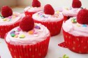 Victoria Threader's raspberry cupcakes