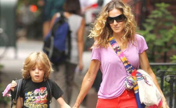 Sarah Jessica Parker and son James