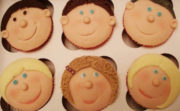 Victoria Threader's birthday cupcakes