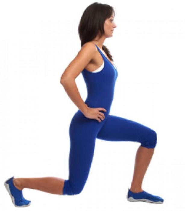 Leg exercises: Lunge