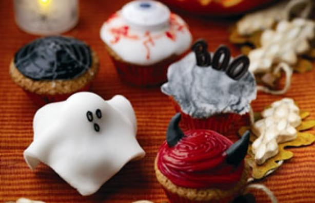 Easy Halloween cupcakes: Halloween cupcakes recipe