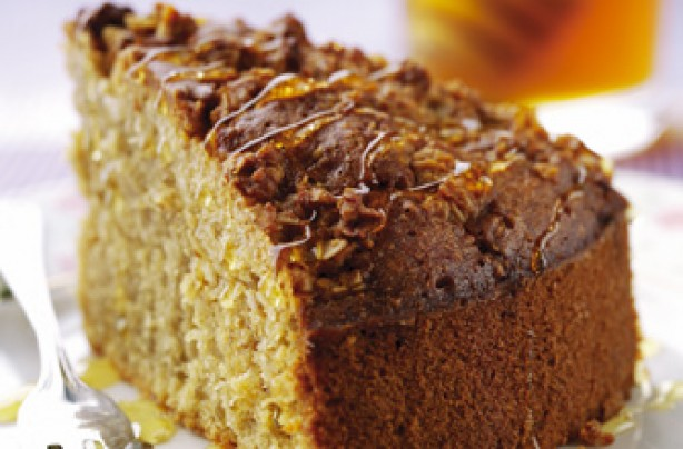 Oatmeal and honey cake recipe