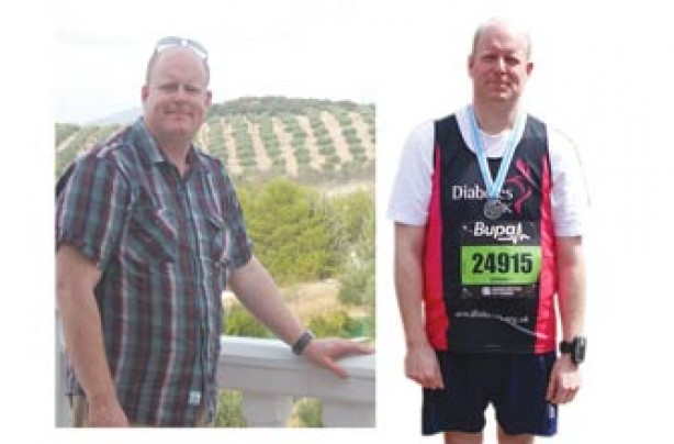 Before and after: Peter Clitheroe