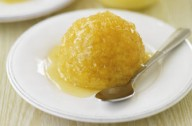 Steamed lemon sponge desserts