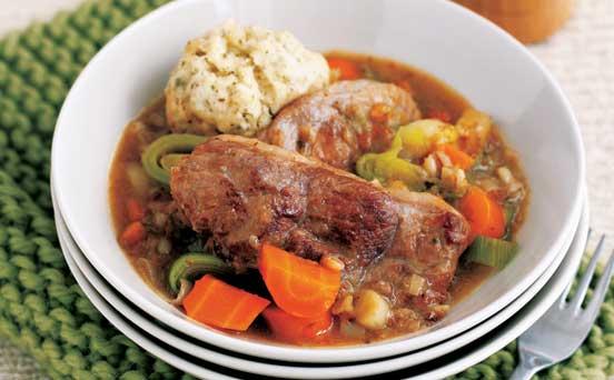 Lamb stew with dumplings recipe - goodtoknow