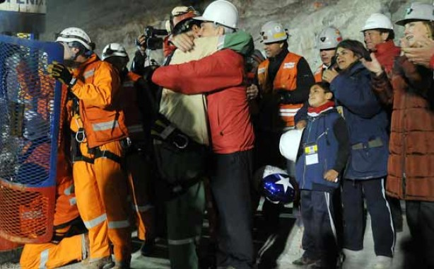 Chilean miners freed!