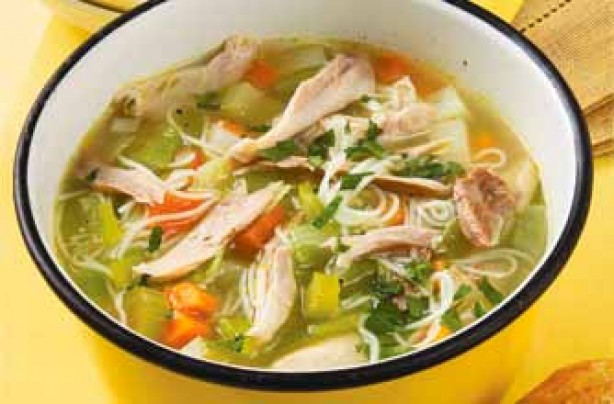 Chicken broth recipe