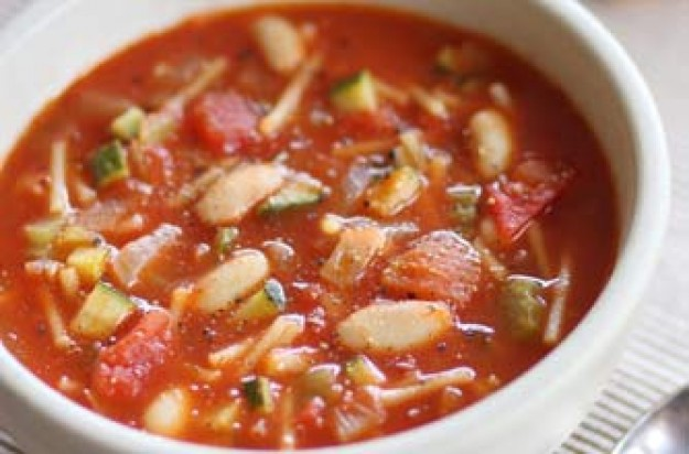 recipe: simple minestrone soup [15]