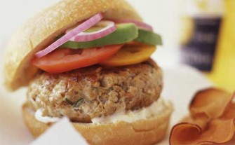 Low fat chicken burgers RATED GALLERY
