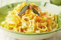 pasta with pumpkin sauce