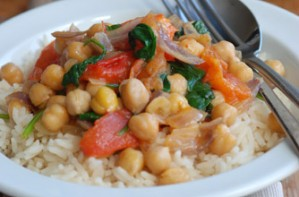 Easy vegetable curry, Change4Life