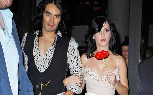 Katy Perry and Russell and Brand
