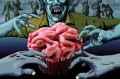 Lily Vanilli's blood-stained brains cupcakes